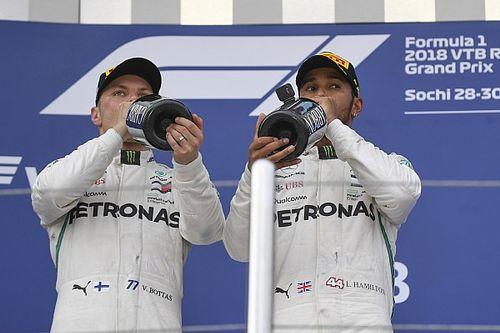 Mercedes wortbrüchig: Valtteri Bottas hatte Erlaubnis zu gewinnen