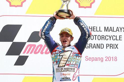Jorge Martin gewinnt in Sepang und ist Moto3-Weltmeister 2018