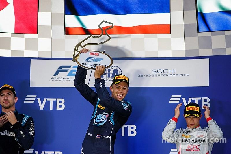Albon triunfa en Rusia y Russell mantiene el liderato del campeonato