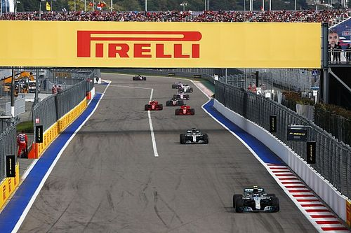 GP de Russie : les vitesses de pointe