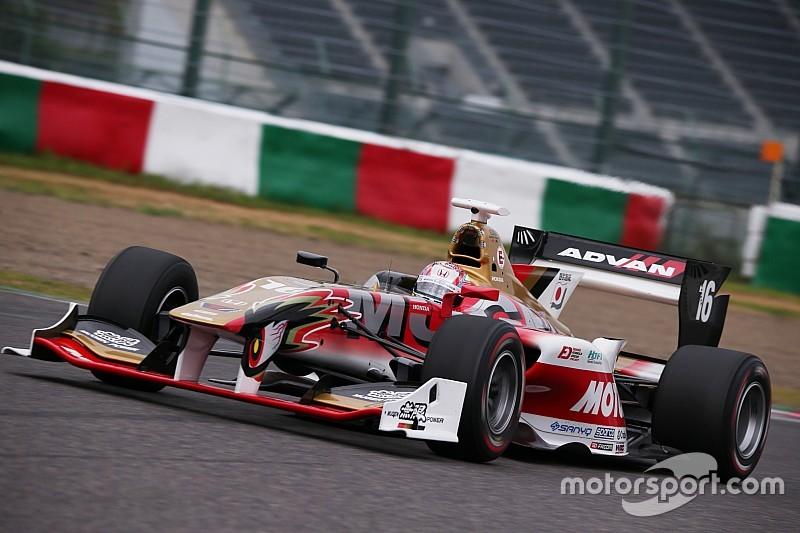 Super Formula Suzuka testi: Fukuzumi ve Nojiri lider