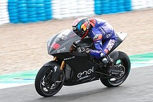 "Smith ""positively surprised"" by MotoE bike"