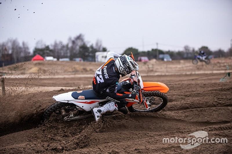Zoon Stefan Everts krijgt contract bij KTM