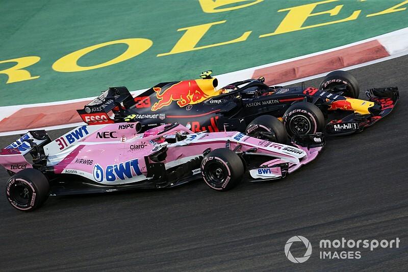 Ocon visszatámadt, Verstappen tartotta az ívet, és kész is volt a baj Interlagosban - videó
