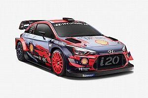 """Fotos: el """"agresivo"""" look del Hyundai i20 Coupé del WRC 2019"""