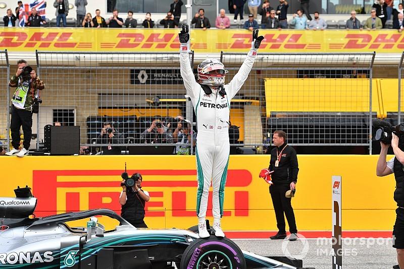 Hamilton pone rumbo al pentacampeonato con la pole de Austin