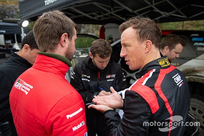 "Meeke relishing ""completely different"" Toyota atmosphere"