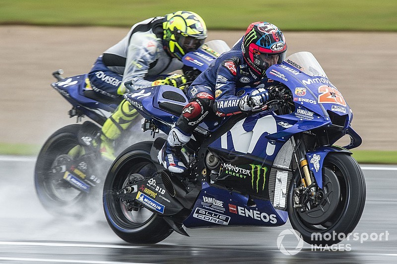 Yamaha was headed for 1-2 in Valencia, say Vinales and Rossi