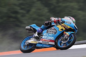 Moto3, Aragon, Libere 3: Lopez brilla sull'umido, Q2 invariata