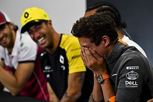 Norris sírva nevet Ricciardo mellett, és csapattársak lesznek: mi lesz ebből?