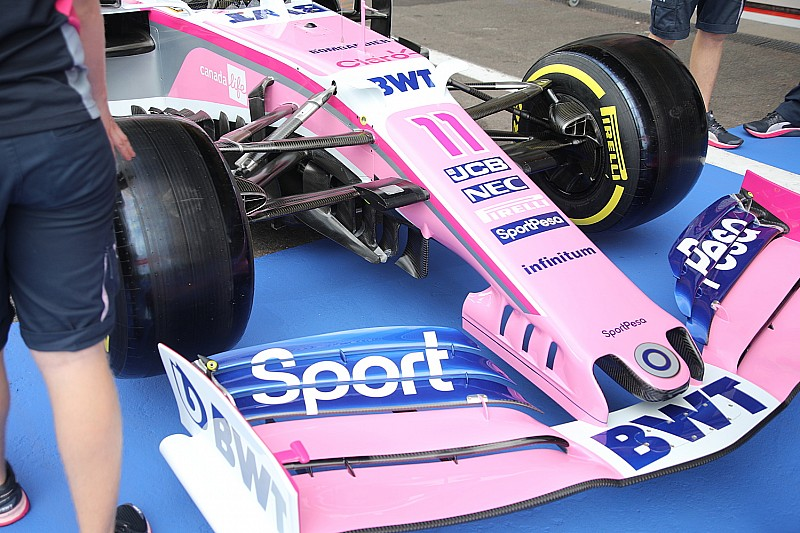 """Racing Point: il nuovo muso è senza """"narici"""""""