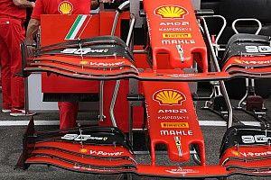 Ferrari: l'ala anteriore scarica per volare a Spa