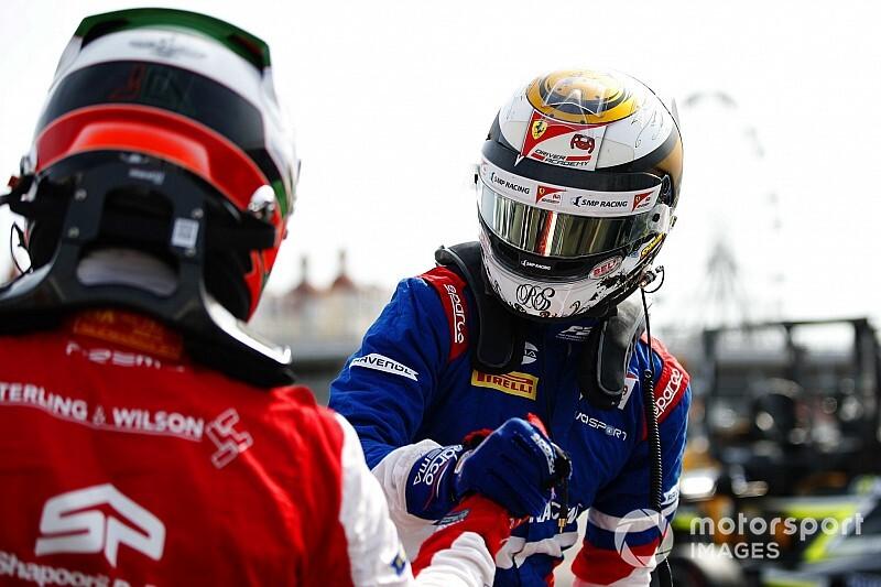 FIA F3ソチ:レース1で2位獲得のシュバルツマンが王者に。角田裕毅12位