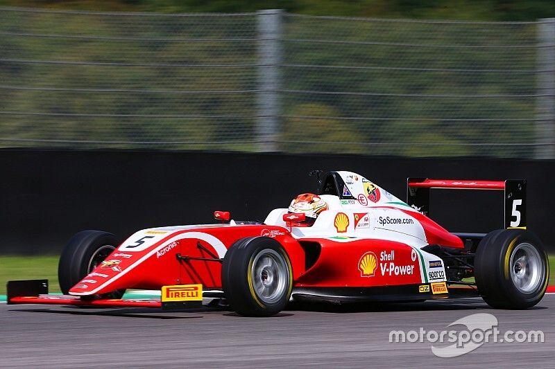 Gianluca Petecof termina rodada da F4 italiana no top-5 em Mugello