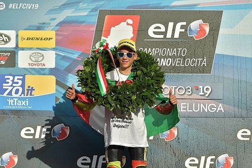 CIV PreMoto3: Lunetta vince ed è campione
