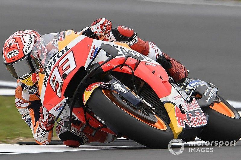 Márquez ne visait pas forcément la roue de Rossi pour sa pole