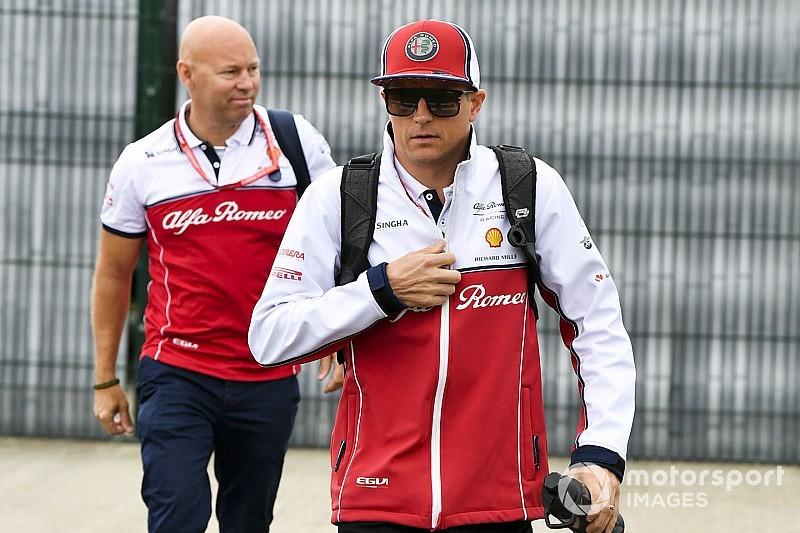 Veszélyben lehet Kimi Räikkönen hétvégéje Belgiumban?