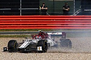 La sortie de Giovinazzi causée par un problème mécanique