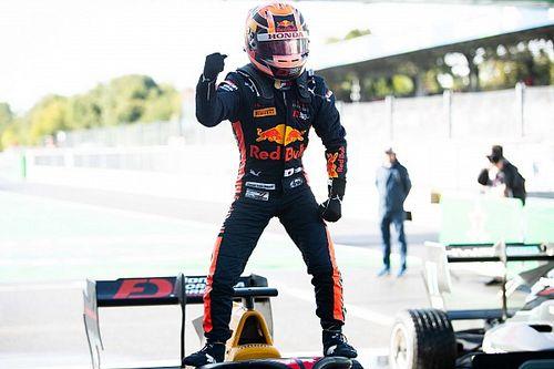 F3初優勝の角田裕毅、課題は予選「最終戦ロシアではポールポジションを獲りたい」