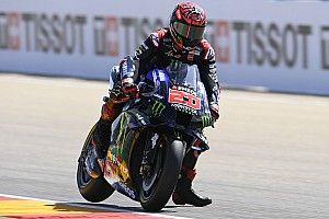 Quartararo blijft Aleix Espargaro voor in derde training GP Aragon