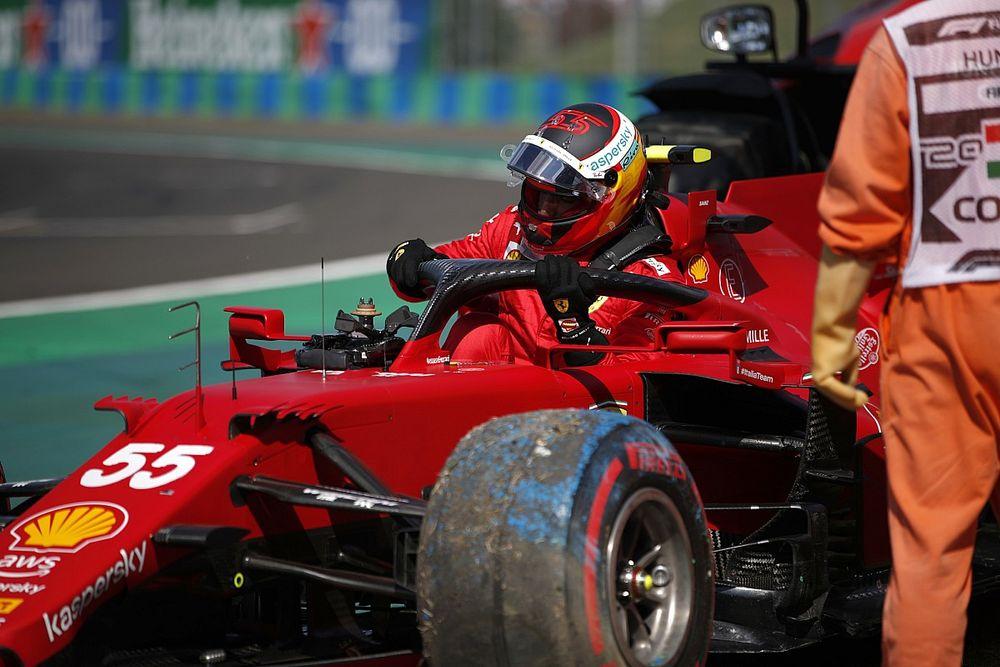 Sainz, henüz Ferrari'de yeterince tutarlı olmadığını kabul ediyor