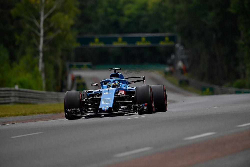 """ألونسو: تسابق سيارات الفورمولا واحد على حلبة لومان """"قد يكون ممتعًا"""""""
