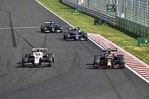 Mick Schumacher, feliz por su actuación ante Verstappen y Hamilton
