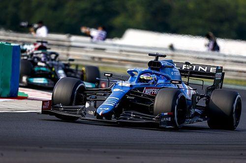 """Alpine: """"Alonso estaba contento por nosotros, pero quiere ganar él"""""""