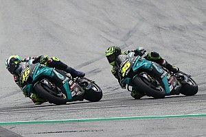 Rossi tuvo tantos compañeros en un par de meses como en 15 años