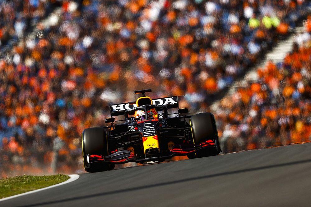 荷兰大奖赛FP3:维斯塔潘最快,优势达0.5秒