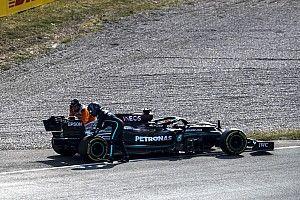 VIDEO: La causa del fallo del motor Mercedes de Hamilton en Zandvoort