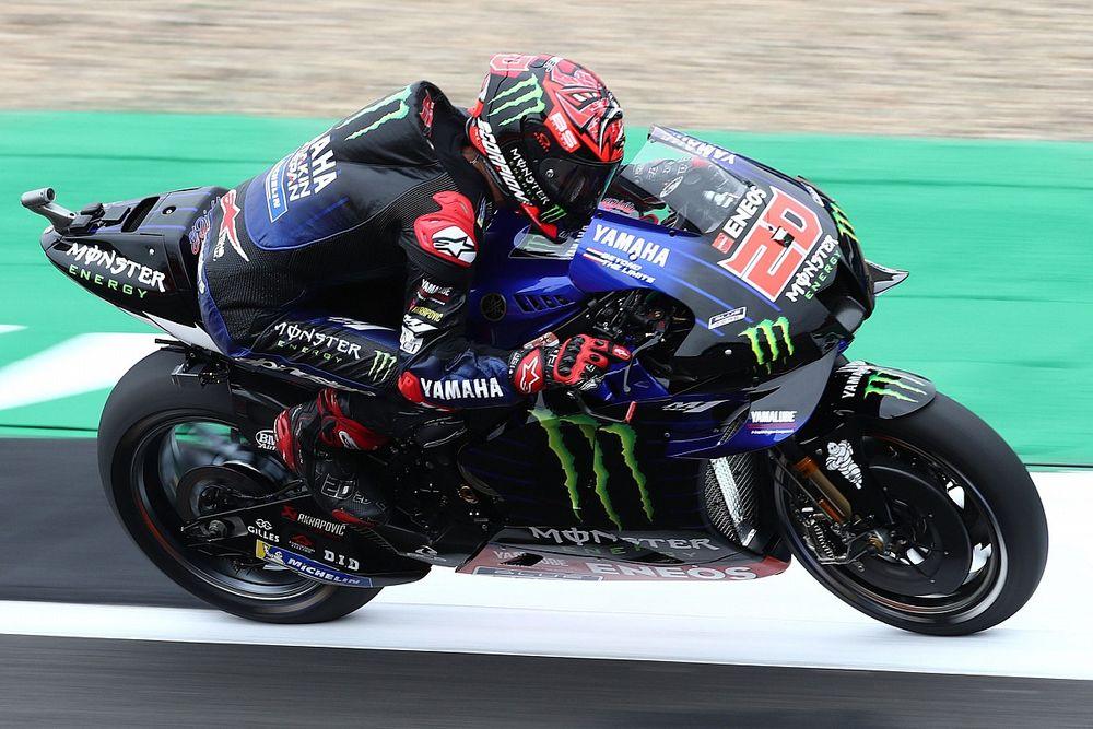 Hasil FP2 MotoGP Inggris: Sempat Crash, Fabio Quartararo Puncaki Sesi