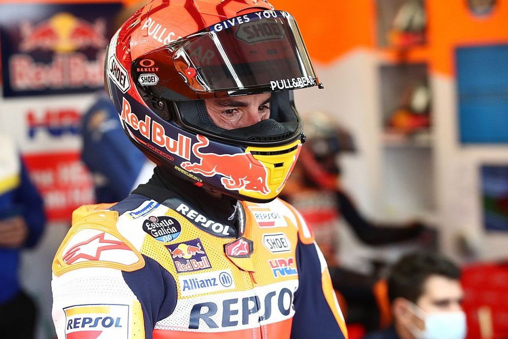 Kecelakaan Saat FP1, Mata Marc Marquez Kemasukan Pasir