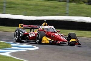 Rookie Lundgaard surprised by pace on IndyCar debut at IMS