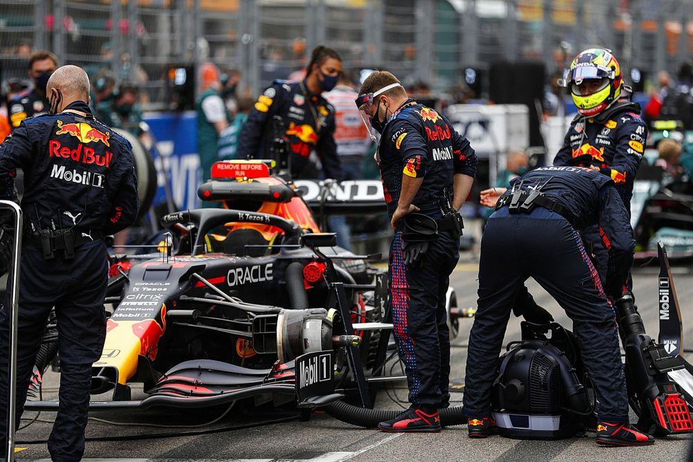 Formel-1-Technik: Wie sich Red Bull und Mercedes beim S-Schacht unterscheiden
