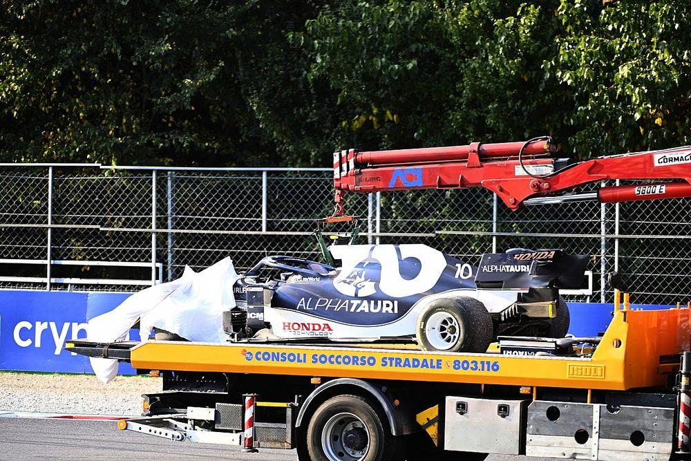 Gasly veroordeeld tot start uit de pitstraat na motorwissel