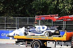 Motor değiştiren Gasly, İtalya GP'ye pit yolundan başlayacak