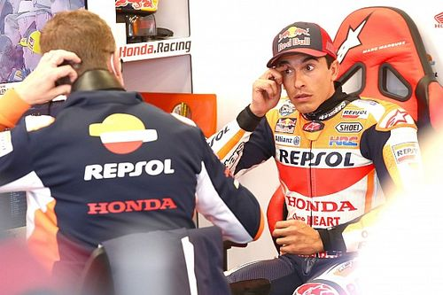 """Marquez says Martin Silverstone crash """"completely my fault"""""""