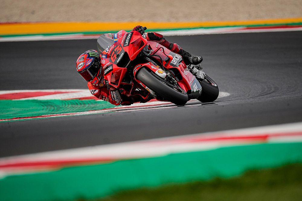 Bagnaia plus sûr de lui et de sa moto depuis ses victoires