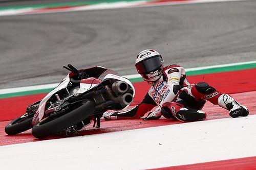 Andi Gilang Akui Kurang Beruntung di Moto3 Styria