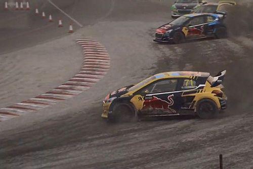 Blomqvist rekent af met Van Gisbergen in virtuele WRX-race
