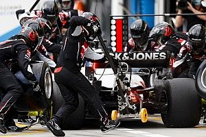 Injured Haas strategist helped make formation lap call
