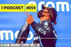 Podcast #059 – O debate de fãs e 'haters' sobre domínio de Hamilton e participação de Eric Granado