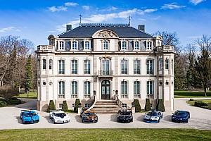 Les six dernières Bugatti réunies sur une même photo