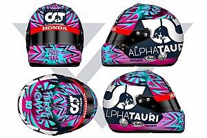 Gasly revela capacete que usará na volta da Fórmula 1 em 2020