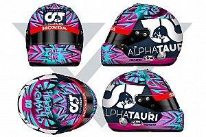 F1: Gasly svela il casco che userà nel primo GP del 2020