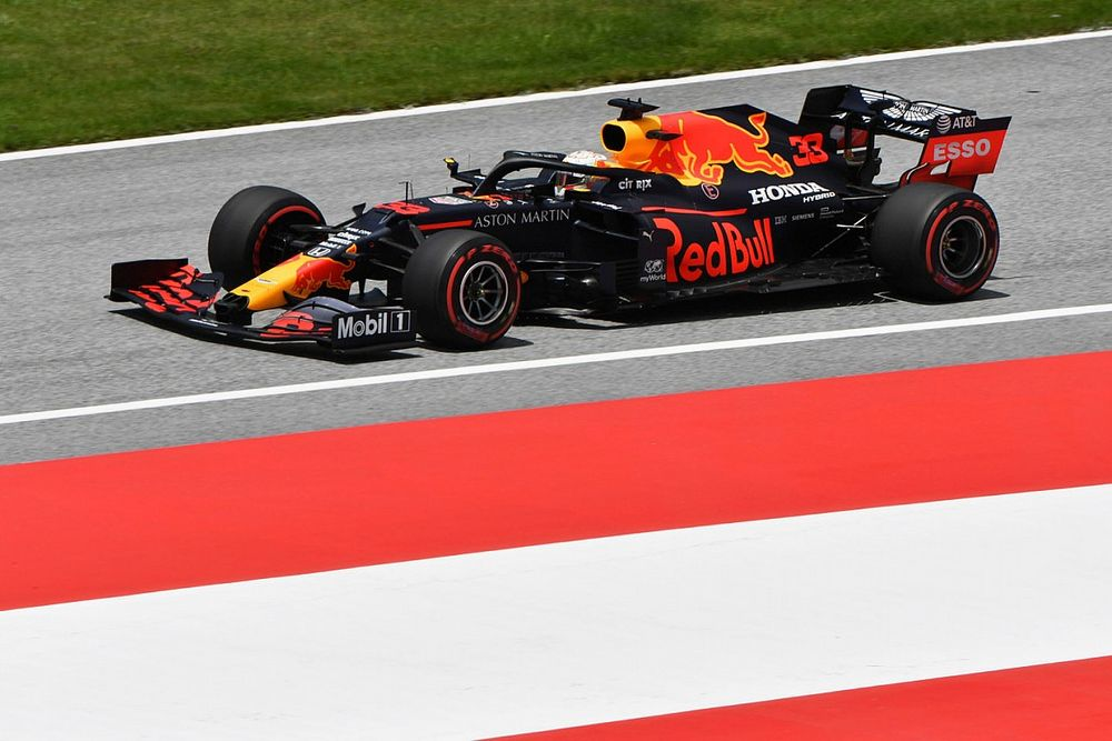 Balance issue exaggerated gap to Mercedes - Verstappen