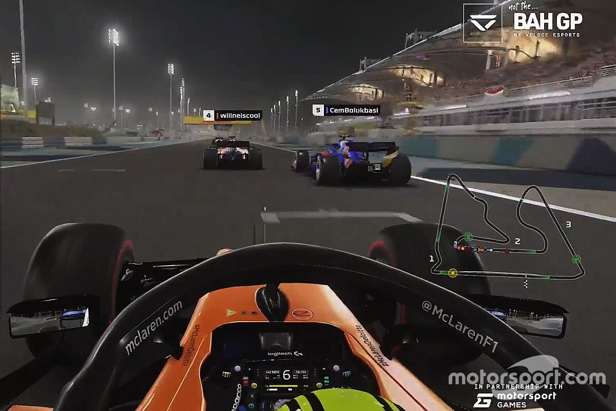 Five things we learned from F1's esports racing