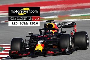 Video, Piola racconta le F1 2020: i segreti Red Bull RB16