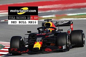 Video, Piola racconta le F1 2020: i segreti Red Bull RB16